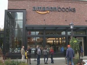 Amazon Books Open in Seattle 2016
