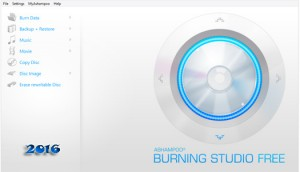 Ashampoo Burning Studio FREE Download 2016 english