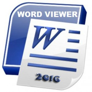 Office Word Viewer 2016 Free Download