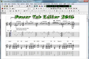 Power Tab Editor 2016 latest download English